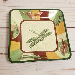 Partylite dragonfly plate for candles